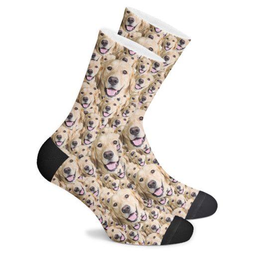 Многоликие носки с собакой
