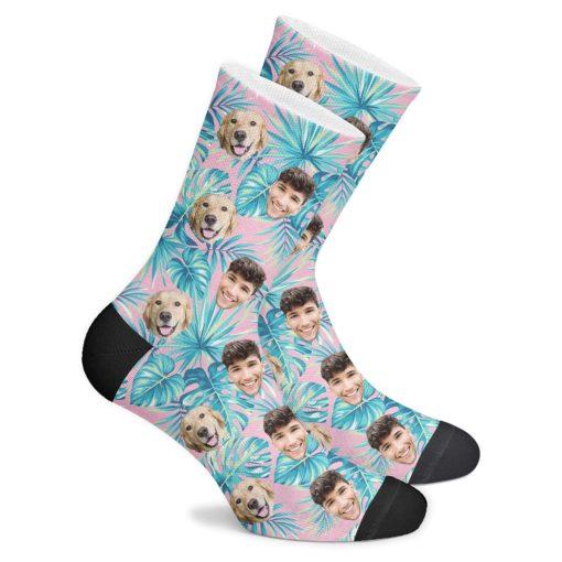 Тропические носки