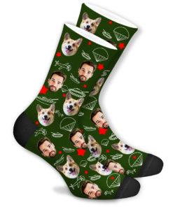 Боевые носки зелёные