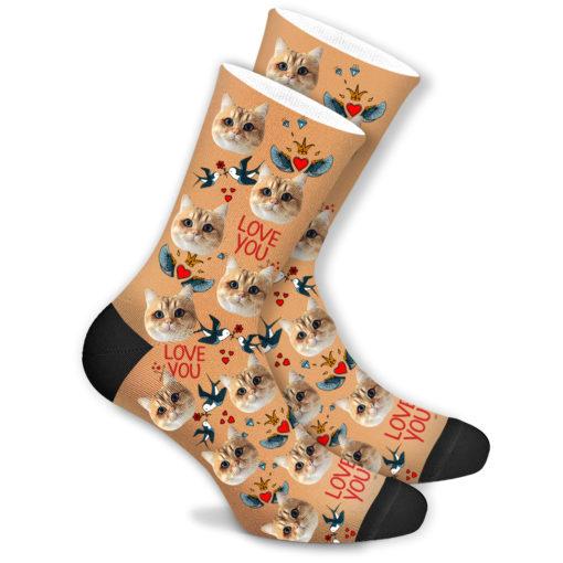 Прикольные носки со своим принтом